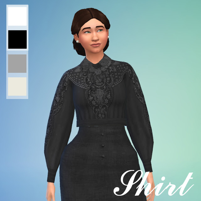 Edwardian Dress by Anni K at Historical Sims Life image 1379 Sims 4 Updates