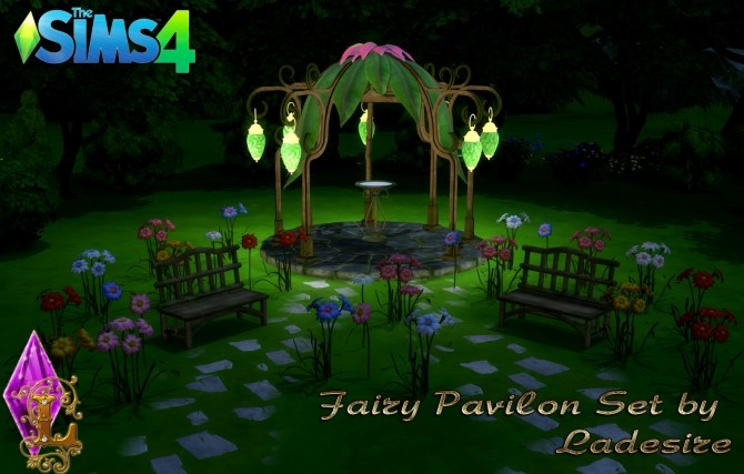 Fairy Pavilon Set at Ladesire image 13812 670x427 Sims 4 Updates