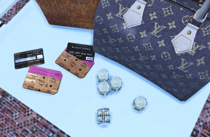 Sims 4 Bags clutter at BlackMojitos