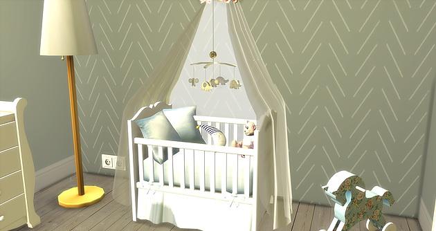 Tiny Boy Babyroom at Caeley Sims image 14212 Sims 4 Updates