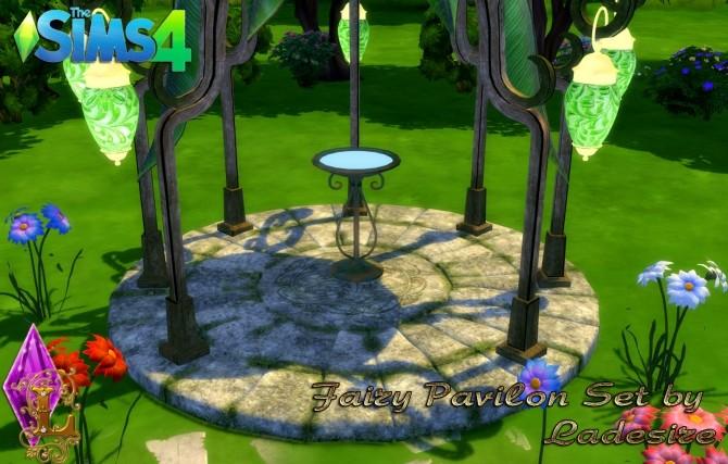 Sims 4 Fairy Pavilon Set at Ladesire