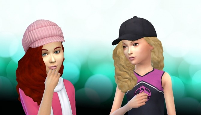 Sims 4 LumiaLoverSims Curly Gurly Conversion at My Stuff