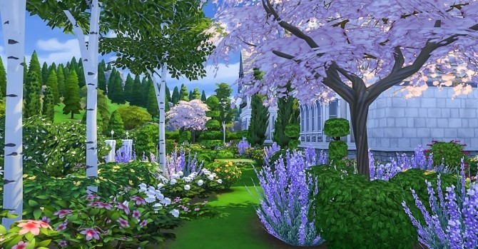 Sims 4 Courtier Manor by Peacemaker ic at Simsational Designs
