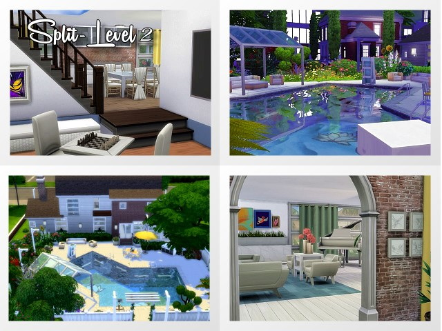 Split Level House 2 by Oldbox at All 4 Sims image 1453 Sims 4 Updates