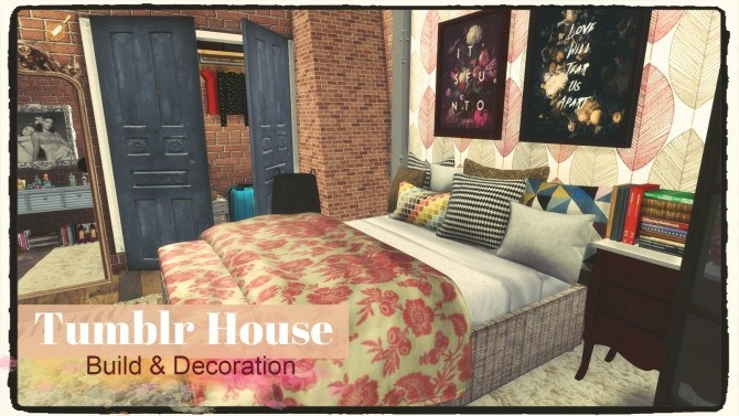Tumblr House At Dinha Gamer Sims 4 Updates