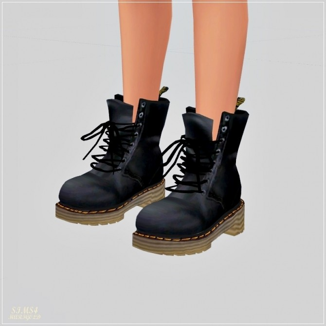 Female Combat Boots At Marigold 187 Sims 4 Updates