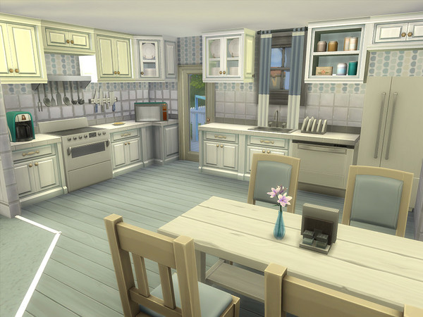 Sims 4 The Abbeville house by sharon337 at TSR