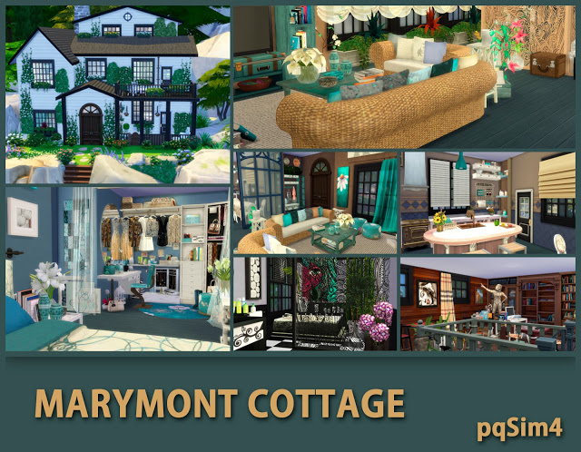 Marymont Cottage by Mary Jiménez at pqSims4 image 1471 Sims 4 Updates