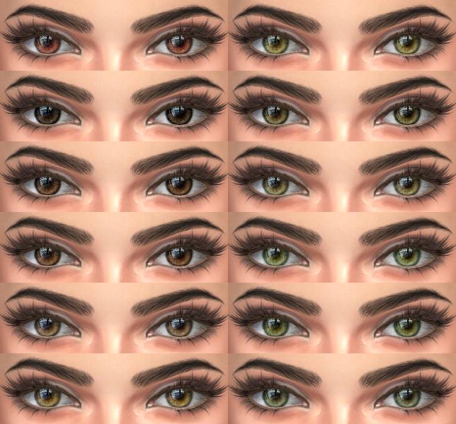 Sims 4 Eyes 04 HQ at Alf si