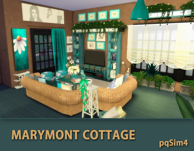 Marymont Cottage by Mary Jiménez at pqSims4 image 1491 Sims 4 Updates
