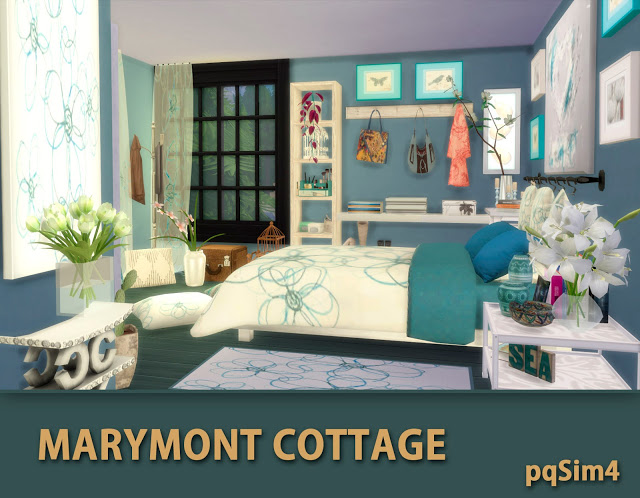 Marymont Cottage by Mary Jiménez at pqSims4 image 1501 Sims 4 Updates