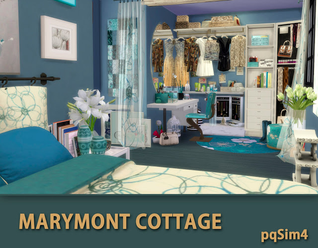 Marymont Cottage by Mary Jiménez at pqSims4 image 1511 Sims 4 Updates