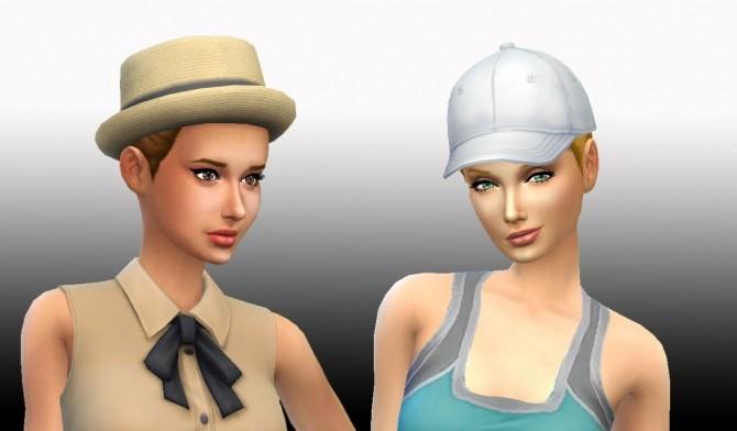 Sims 4 High Ponytail by Kiara Zurk at My Stuff
