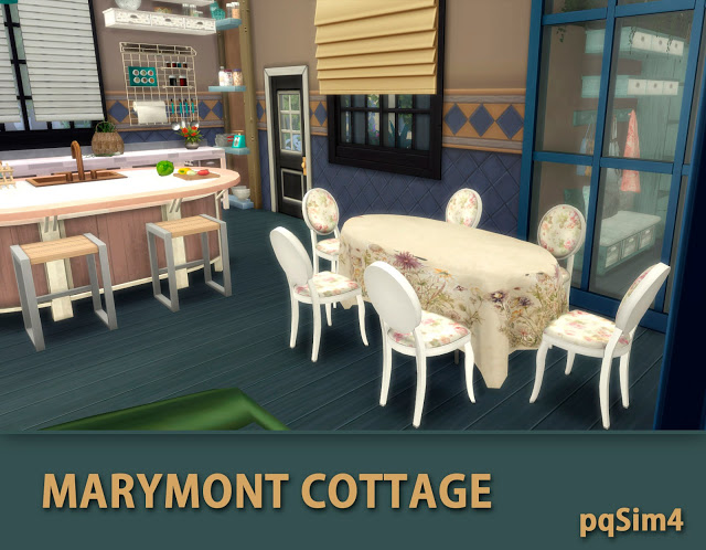 Marymont Cottage by Mary Jiménez at pqSims4 image 1521 Sims 4 Updates