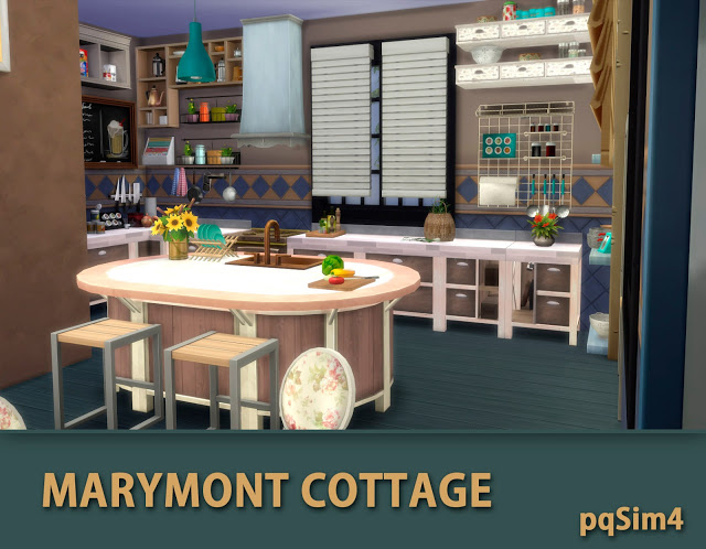 Marymont Cottage by Mary Jiménez at pqSims4 image 1531 Sims 4 Updates