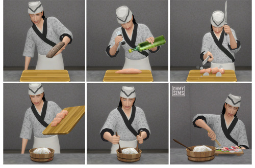 Sushi Set At Oh My Sims 4 187 Sims 4 Updates