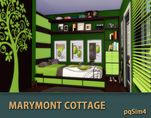 Marymont Cottage by Mary Jiménez at pqSims4 image 1541 Sims 4 Updates