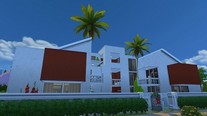 Sims 4 IFA Villa by Dolkin at ihelensims