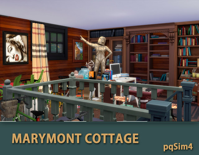 Marymont Cottage by Mary Jiménez at pqSims4 image 1551 Sims 4 Updates