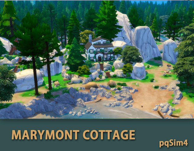 Marymont Cottage by Mary Jiménez at pqSims4 image 1561 Sims 4 Updates