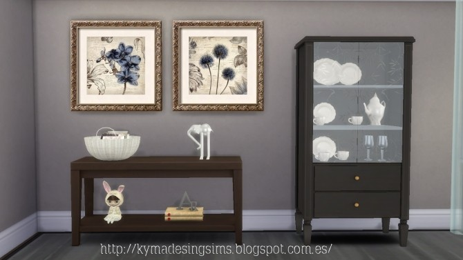 Glamour paintings at Kyma Desingsims S4 image 16115 670x377 Sims 4 Updates
