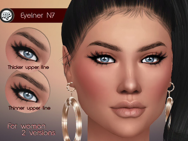Sims 4 MP Eyeliner N7 at BTB Sims – MartyP