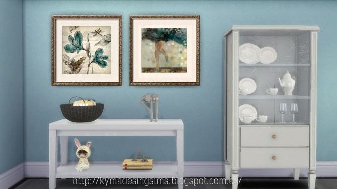Glamour paintings at Kyma Desingsims S4 image 16310 670x377 Sims 4 Updates
