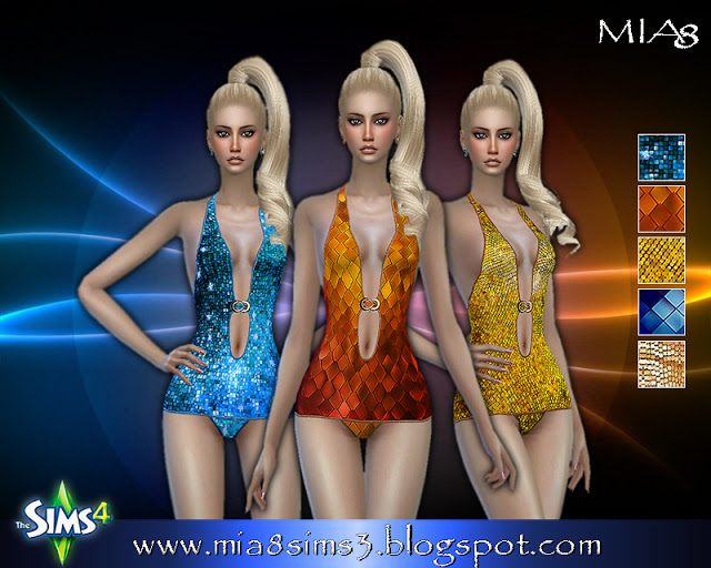 Bodysuits at MIA8 image 1645 Sims 4 Updates