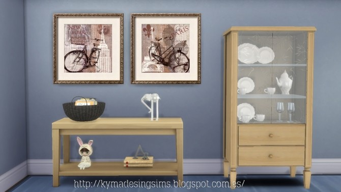 Glamour paintings at Kyma Desingsims S4 image 1649 670x377 Sims 4 Updates