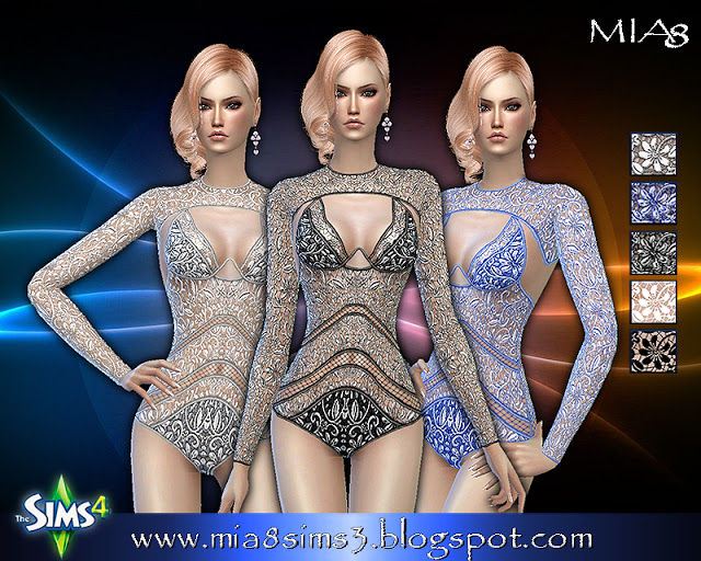 Bodysuits at MIA8 image 1655 Sims 4 Updates