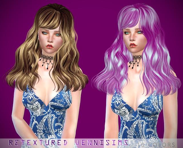 Sims 4 Skysims 021, 066 hair retextures at Jenni Sims