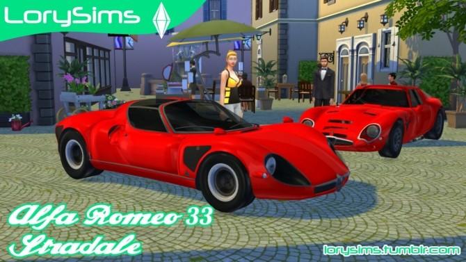 Alfa Romeo 33 Stradale at LorySims image 1675 670x377 Sims 4 Updates