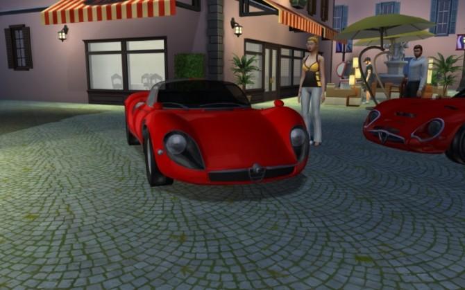 Alfa Romeo 33 Stradale at LorySims image 1696 670x419 Sims 4 Updates