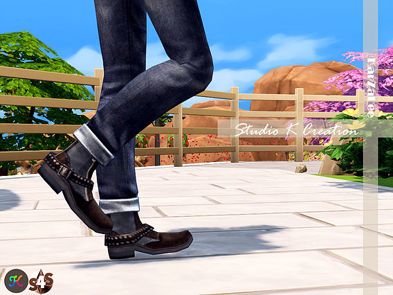 Sims 4 Short boots N1 at Studio K Creation