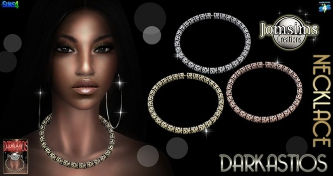 Sims 4 Darkastios necklace at Jomsims Creations