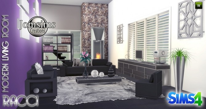 RACCI livingroom at Jomsims Creations image 1734 670x355 Sims 4 Updates