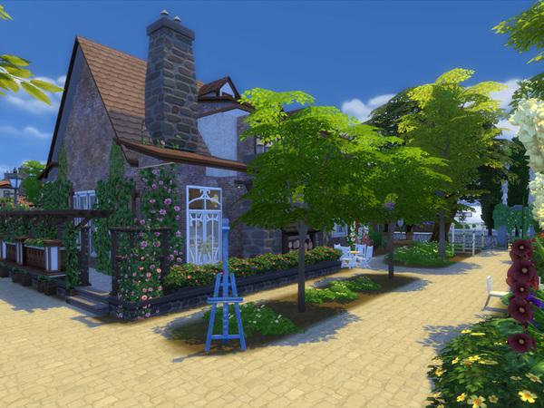 Sims 4 Country Estate No CC by Danuta720 at TSR