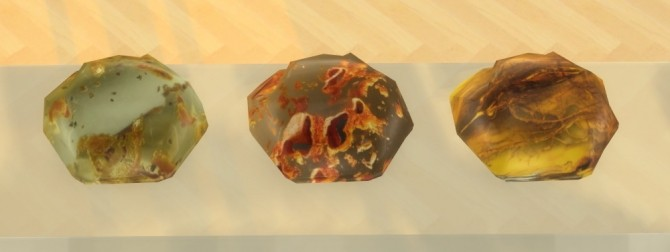 Sims 4 Three pieces of amber at Sims 4 Studio
