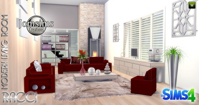 RACCI livingroom at Jomsims Creations image 1744 670x355 Sims 4 Updates