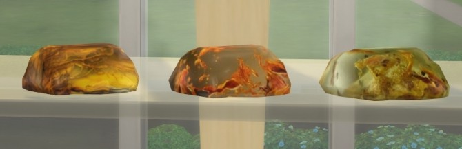 Three pieces of amber at Sims 4 Studio image 1751 670x217 Sims 4 Updates