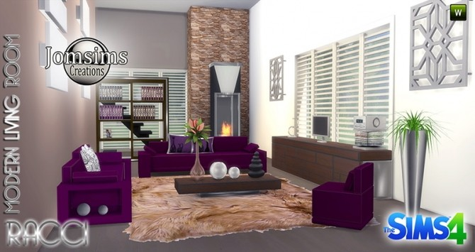 RACCI livingroom at Jomsims Creations image 1754 670x355 Sims 4 Updates