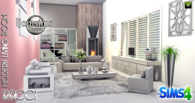 RACCI livingroom at Jomsims Creations image 1764 670x355 Sims 4 Updates