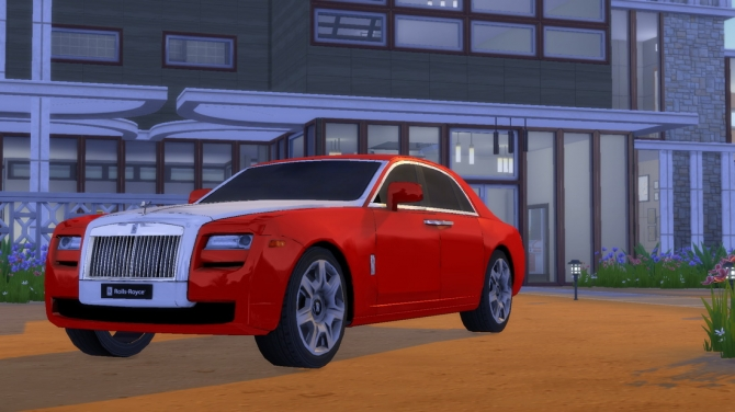 Build A Jeep >> Rolls Royce Ghost at Understrech Imagination » Sims 4 Updates