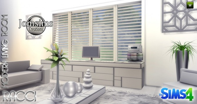 RACCI livingroom at Jomsims Creations image 1784 670x355 Sims 4 Updates