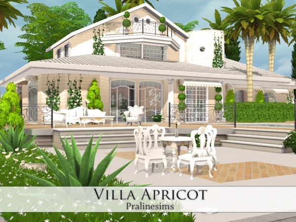 Villa Apricot by Pralinesims at TSR image 18 Sims 4 Updates