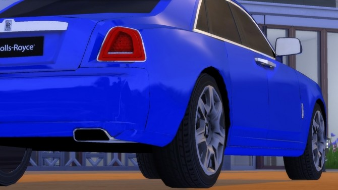 Rolls Royce Ghost At Understrech Imagination 187 Sims 4 Updates