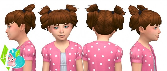 Sassy Curls Summer Pigtails Collection (Part 03) at SimLaughLove image 18110 670x285 Sims 4 Updates