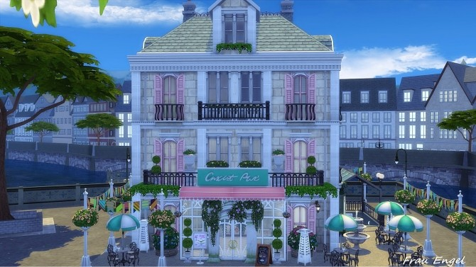 Ice Cream Cafe by Julia Engel at Frau Engel image 1824 670x377 Sims 4 Updates