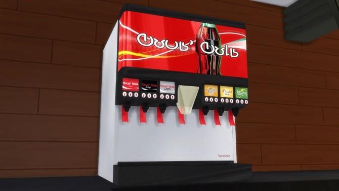 Sims 4 McDonald's Restaurant at RomerJon17 Productions