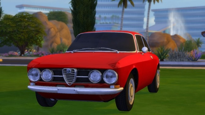 Sims 4 Alfa Romeo Brera at Understrech Imagination